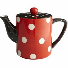 love this, out of stock online check store if you like it Polka Dot Teapot