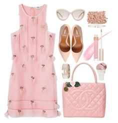 """*1215"" by cutekawaiiandgoodlooking ❤ liked on Polyvore featuring мода, Chanel, Fendi, Stila, Sin, Prada, Forevermark, Hermès, Pink и girly"