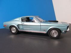 MAIASTO SPECIAL EDITION 1968 FORD MUSTANG GT COBRA JET 1/18 SCALE DIECAST CAR #Maisto #Ford 2000 Ford Mustang, Ford Gt, Antique Toys, Vintage Toys, M4 Gts, James Bond Cars, Lamborghini Centenario, Women's Motorcycle Boots, Datsun 510