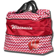Logo Chair Expandable Tote (Red/White)