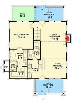 Plan 58550SV: Adorable Cottage