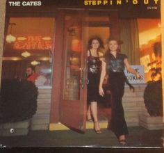 The Cates Steppin Out Sealed Vinyl Country Record Album by RASVINYL on Etsy