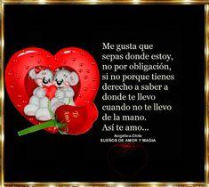 SUEÑOS DE AMOR Y MAGIA: Así te Amo
