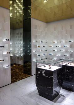 Bolon Eyewear Flagship store by Ippolito Fleitz Group