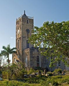 Trelawny Parish Church, built in 1796. Falmouth, Jamaica