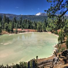 Hot boiling lake, Mt. Lassen