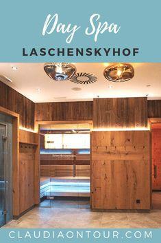 Day Spa im Laschenskyhof in Wals bei Salzburg. Großzügig und elegant. Schöner Saunabereich und weitläufiger Außenpool mit Gartenanlage.
