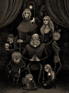Lannisters:  Addams Family style