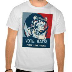 Vote Rats! Shirt