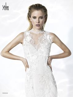 Couture reflections.  Brilliant. Elegant. Modern. Stylish. Extremely sophisticated, Glint Couture the new YolanCris bridal collection is much more than just a line of bridal gowns. It's an ode to haute couture in fashion for brides.  Paraguay bridal gown by YolanCris.