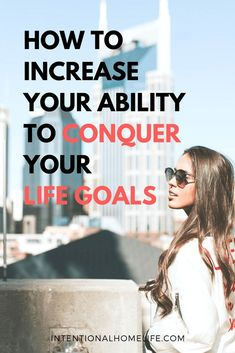 How to Increase Your Ability to Conquer Your Life Goals Smart Goal Setting, Setting Goals, Achieving Goals, Achieve Your Goals, Self Development, Personal Development, Goal Setting Activities, Goal Setting Template, Productive Things To Do