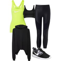 A fashion look from January 2015 featuring Vetements sweatshirts, Charli Cohen leggings and DKNY sports bras. Browse and shop related looks.