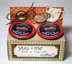 My Little Stampin' Spot: {TSG Birthday Treats} Coffee Time!