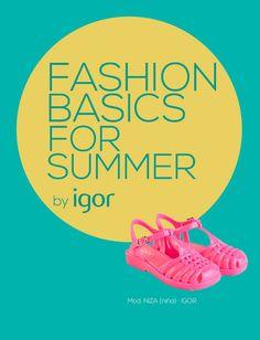 #Igor #Botas, #cangrejeras y #sandalias de agua #summer #color #fashion