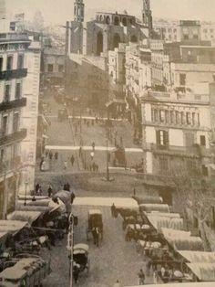 Paseo del Born. 1900. BCN Barcelona City, Barcelona Catalonia, Belle Epoque, Art Nouveau, Antoni Gaudi, Best Cities, The Good Place, Around The Worlds, Vintage