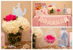 Monica M's Birthday / Disney Princess - Photo Gallery at Catch My Party Disney Princess Birthday Party, Cinderella Birthday, Birthday Celebration, Birthday Parties, Princess Photo, My Little Girl, Pink And Gold, Sweet 16, Pirates