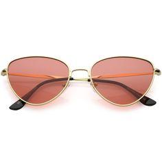 8df8b2939d12 Gold Red Sunglasses Women
