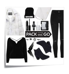 """""""pack and go"""" by nendeayesika ❤ liked on Polyvore featuring Post-It, River Island, Lilly e Violetta, Monsoon, Furla, NARS Cosmetics, Essie, Urban Decay and Movado"""