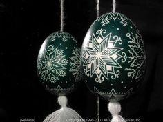 Ukrainian Easter Egg Pysanky 03-155  from the Lviv Region on AllThingsUkrainian.com