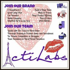 Check out my page on Facebook https://m.facebook.com/Acti-Labs-GlamDiamonds-US-Signups-Launch-1078491835535367/