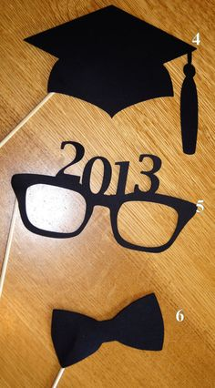 Graduation Photo Props by CreativeDesignsbyLiz on Etsy, $8.00
