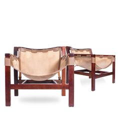 Mid Century Sling Lounge Chairs | Arne Norell | Decor NYC Consignment Decor NYC Store