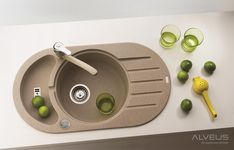 AS-Norfolk 50 small sink Whiskey Barrel Sink, Cutting Board Material, Granite Kitchen Sinks, Kohler Sink, Cast Iron Sink, Small Sink, Glass Sink, Floor Drains