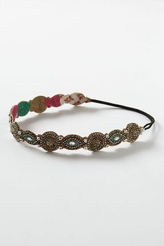 Mayura Headband- anthropologie    Soo pretty! And as an added bonus, it has enough sparkles to distract from a bad hair day!