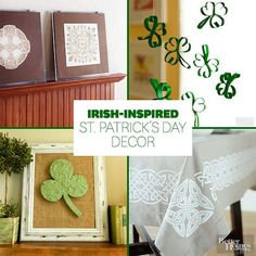 Get your home ready for St. Patrick\'s Day with this festive decoration: www.bhg.com/...