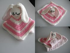 Baby Crochet Snuggle Buddy Pinkie by madwestdesigns on Etsy, $45.00