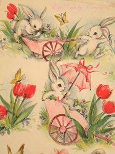 Vintage Easter Wrapp