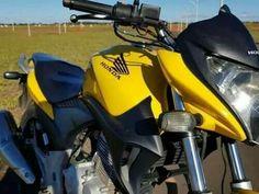 Honda Cb, Cb 300, Motorcycle, Vehicles, Helmet, Yellow, February, Brazil, Motorbikes