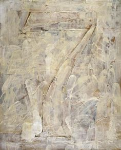 """""""I have no ideas about what the paintings imply about the world. I don't think that's a painter's business. He just paints paintings without a conscious reason.""""—Jasper Johns."""