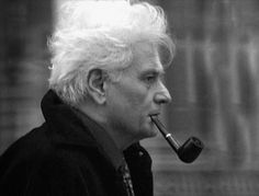 Jacques Derrida was a French philosopher, born in French Algeria. He developed a form of semiotic analysis known as deconstruction. His work was labeled as post-structuralism and associated with postmodern philosophy. Jaques Derrida, Post Structuralism, Great Thinkers, Personal Library, Writers And Poets, Portraits, English Literature, History, Thoughts