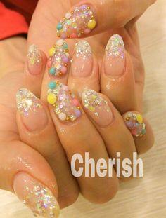 Crazy 3D nail art!!