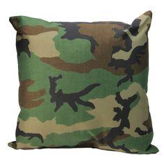 Woodland Camo Patio Furniture Throw Pillow By Northlight Green Throw Pillows, Patio Pillows, Outdoor Throw Pillows, Outdoor Blanket, Camo Furniture, Wicker Patio Furniture, Furniture Update, Camo Designs, Woodland Camo