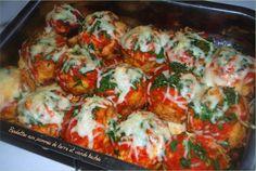 Tajine El khoukh/Boulettes aux pommes de terre farcis à la viande hachée.....