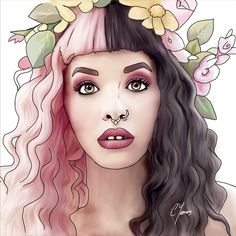 New Melanie Martinez fan art Cry Baby, Cartoon Drawings, Art Drawings, Melanie Martinez Drawings, Melanie Martinez Teeth, Amazing Art, Fisher, Aurora Sleeping Beauty, Artsy