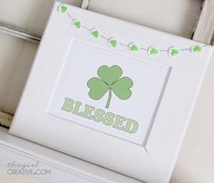 Simple St. Patrick's Day Decor - The Girl Creative