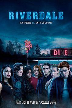 Riverdale Poster -Tv show Promo flyer Cole Sprouse - 11 x 17 inches Diner Riverdale 2017, Riverdale Season 2, Kj Apa Riverdale, Riverdale Poster, Watch Riverdale, Riverdale Cast, Riverdale Online, Riverdale Netflix, Riverdale Archie
