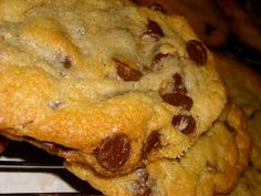 The Land of Peapodriot: Chocolate Chip Cookies - No Eggs!