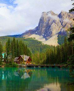 Emeral Lake, Parque Nacional Yoho, Canadá.