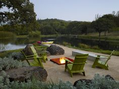 Build a unique outdoor fire pit seating using our spectacular ideas for circular, sunken & built in area designs for patio, garden & backyard. Indoor Outdoor Living, Outdoor Fire, Outdoor Decor, Outdoor Sheds, Outdoor Seating, Patio Design, Garden Design, Backyard Designs, Porches