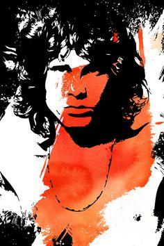Jim Morrison / The Doors Jim Morrison, Art Pop, Rock N Roll, Beatles, The Doors Of Perception, Wild Love, Pin Up, Image Fun, Concert Posters