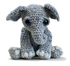 Tilly the Elephant by Patchwork Moose