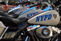 The NYPD Motorcycle Squad,  more at www.PoliceHotels.com