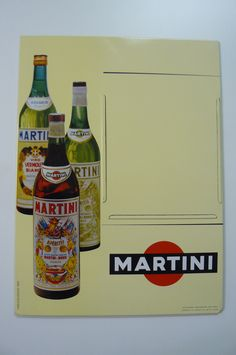 Vtg Martini Amp Rossi Labeled Vermouth Cocktail Bottle With