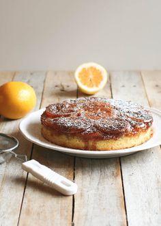Meyer Lemon Upside-Down Cake // butterlustblog.com