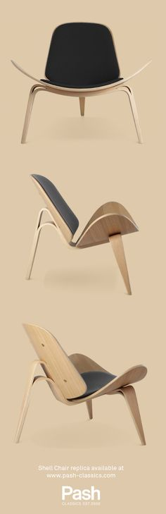 If the Danes are mid-century design royalty, then Hans J Wegner's Shell Chair is their throne.   Shop the quality replica for £299/€359 at Pash Classics: https://www.pash-classics.com/hans-j-wegner-shell-chair.html