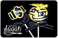WSU - Shockers Cakepops.  Wu Shock!!!